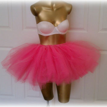 adult tutu teen tutu hot pink tutu barbie tutu edc tutu by TutuHot