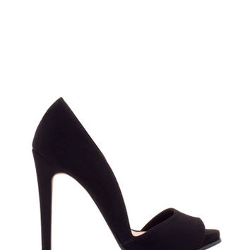 Asymmetrical high heel peep toe shoes - NEW - NEW! -Stradivarius United Kingdom