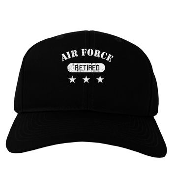 Retired Air Force Adult Dark Baseball Cap Hat