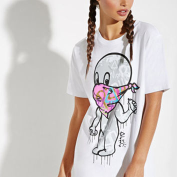 Alec Monopoly X Forever 21 Casper Graphic Tee