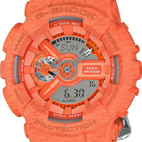 Casio G-Shock S-Series - Orange Heather Pattern - Magnetic Resistant