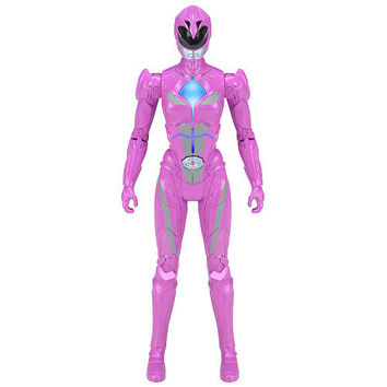 Mighty Morphin Power Rangers Movie Morphin Grid Action Figure - Pink Ranger
