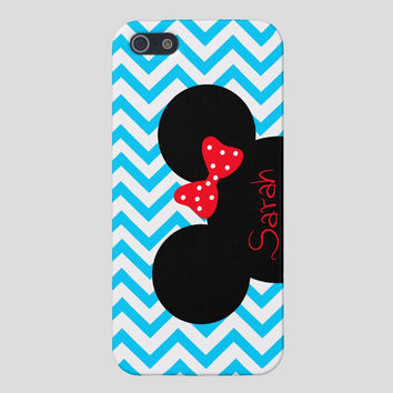 Minnie Mouse iPhone Case, iPhone Cover Disney,Personalized iPhone 4 Case, iPhone 5 Case, Disney iPhone 4S Case,Mickey Mouse