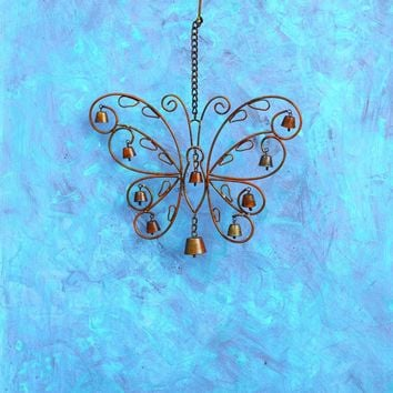 Hanging Butterfly Wind Chime