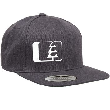 Snap Hat Dark Heather