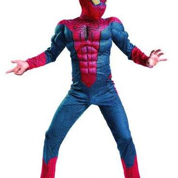Kids Spider-Man Muscle Chest Halloween Costume
