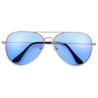 Timeless Colorful 60mm Teardrop Aviator – Sunglass Spot
