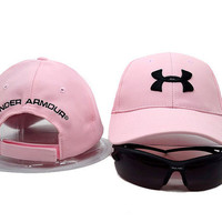 Under Armour Women Men Sunhat Embroidery Sport Baseball Cap Hat
