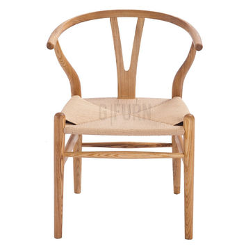 Reproduction of Hans J. Wegner's Wishbone Chair CH24 Y Chair | GFURN