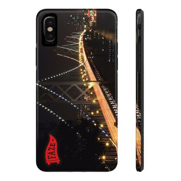 **Online Exclusive** Build Bridges Tough iPhone X Phone Case