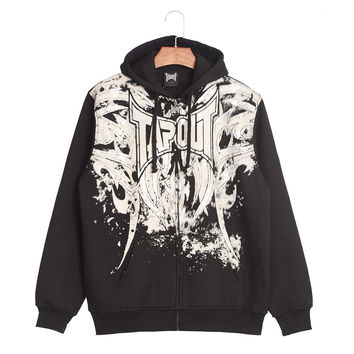 Hip-hop Style Print Stylish Hoodies [6541439555]