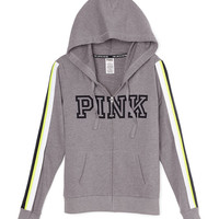 Limited Edition Perfect Full-Zip Hoodie - PINK - Victoria's Secret