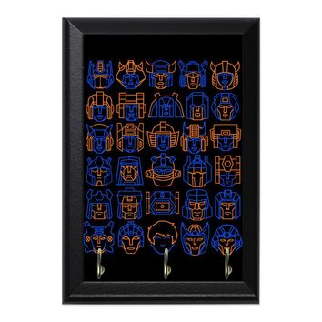 Transformers Minimalism Decorative Wall Plaque Key Holder Hanger