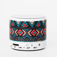 Aztec Retro Geometric Wireless Bluetooth Mini Speaker