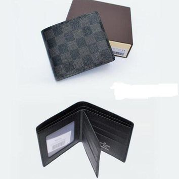 DCCKHI2 LOUIS VUITTON HIGH QUALITY MAN PURSE FOLD WALLET