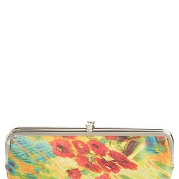 Women's Hobo 'Lauren' Double Frame Clutch - Yellow