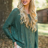 Season of Life Olive Green Sweater