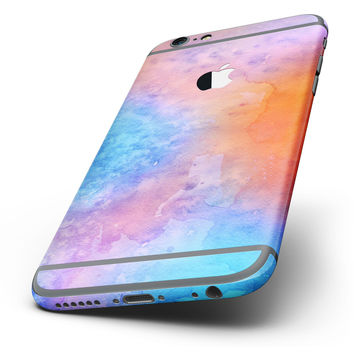 The Mixed 8652 Absorbed Watercolor Texture Six-Piece Skin Kit for the iPhone 6/6s or 6/6s Plus