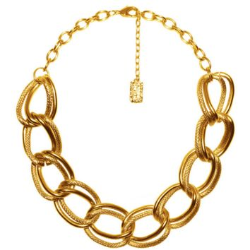 Emma Collar Necklace in Gold