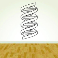 DNA Strand Science Biology Scientist Medicine Doctor Vinyl Decal Sticker Wall