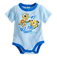 Nemo ''Best Fins'' Disney Cuddly Bodysuit for Baby