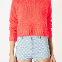 Knitted Fluffy Crop Top - New In This Week - New In - Topshop USA