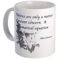 Math vs. Politics Mug Mug by CafePress