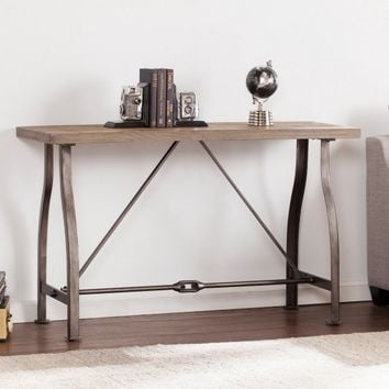 Southern Enterprises Jacinto Industrial Console Table - Walmart.com