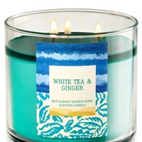 3-Wick Candle White Tea & Ginger