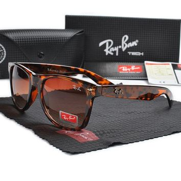 Ray Ban RB2140 Brown Frame Brown Lens Sunglasses