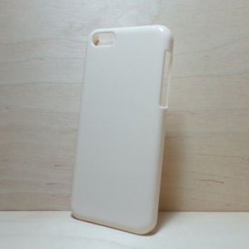 iphone 5c hard plastic case - Ivory (for decoden phone case)