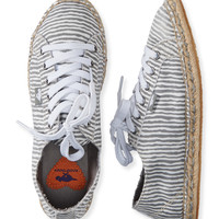 Aeropostale  Rocket Dog Striped Espadrille Shoe
