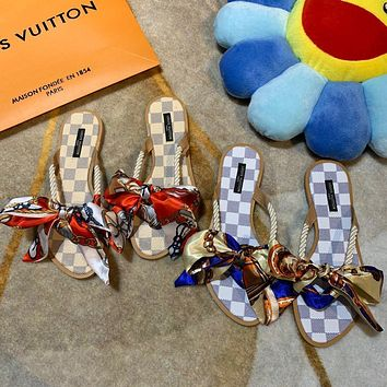 Louis Vuitton LV Ribbon Sandals