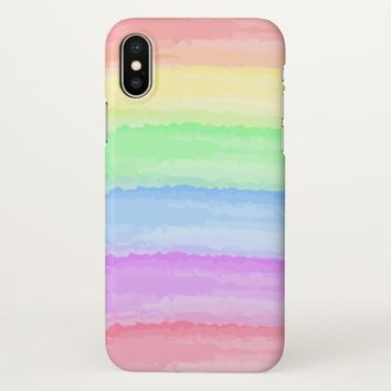 Claire Blossom happy rainbow iPhone X Case