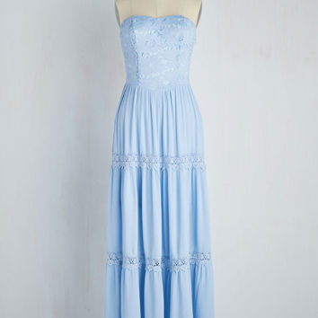Beach Poise Dress in Sky | Mod Retro Vintage Dresses | ModCloth.com