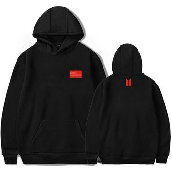 BTS Love Yourself Pullover Hoodie