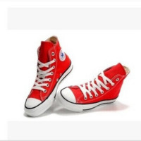 Evergreen classic canvas shoes couple models high shoes low shoes