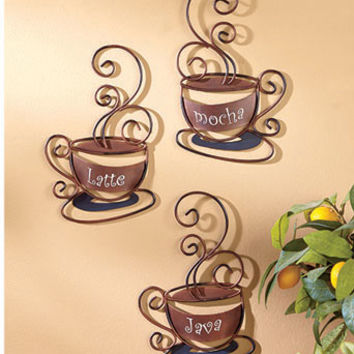 Decorative Metal Coffee Collection