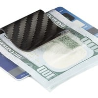Genuine Carbon Fiber Money Clips