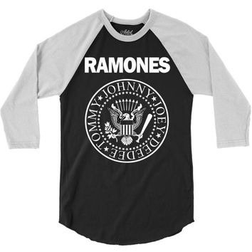 ramones 3/4 Sleeve Shirt