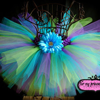 Electric Tutu Skirt by formyprincesstutus on Etsy