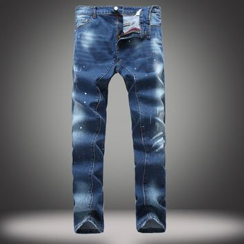 Hot Sale Pants Stretch Slim Jeans [1922680356957]