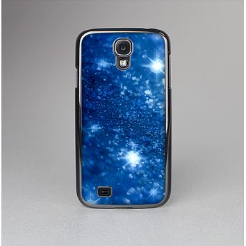 The Unfocused Blue Sparkle Skin-Sert Case for the Samsung Galaxy S4