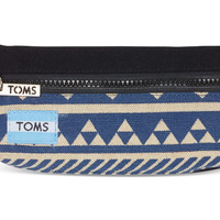 TOMS Indigo Ikat Traveler Pencil Case