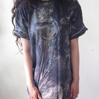 Dripping Moon Grunge Tee