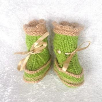 ICIK8X2 Ugg boots for baby with duble soles
