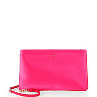 Loubiposh Satin Clutch