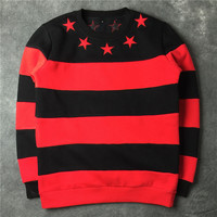 Hoodies Winter Stripes Unisex Long Sleeve Jacket [10159722375]