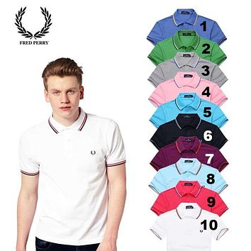 Fred Perry Men Polo Shirts