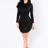 Beverly Hills Tunic - Black